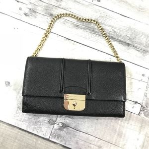 kate spade Bags - Kate spade small black leather bag
